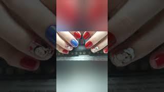 Unhas decoradas Keli hanj Cartoon nail