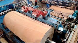 Amazing Biggest plywood woodworking Machine, Fastest Large wood processor Machines Working
