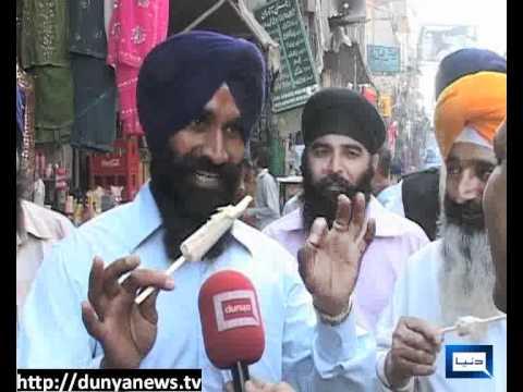 Dunya News-19-04-2012-Sikh Yatri in Lahore
