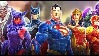 All Characters In the Game | DC Legends