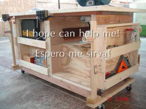 How to build a workbench - YouTube