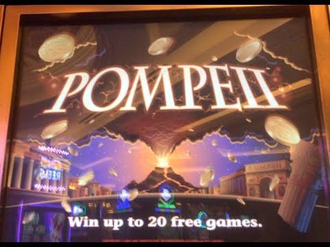 Pompeii Slot Machine Bonus