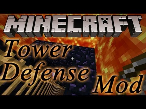 Minecraft Tower defense (Invasion-Mod) (German/Deutsch)