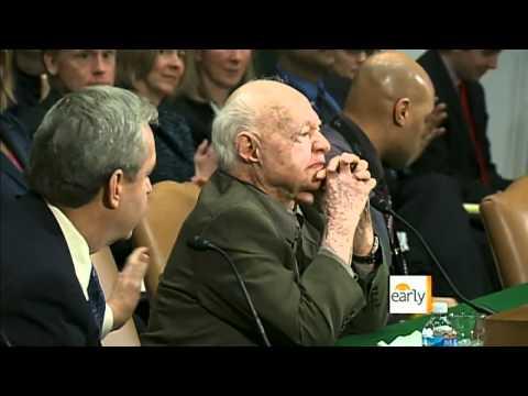 Mickey Rooney's emotional testimony on elder abuse