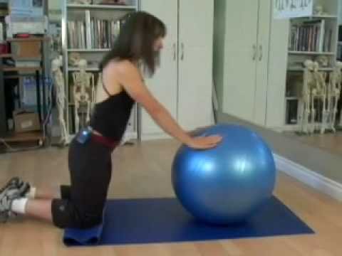 Ten Minute Workout with Fitness Ball