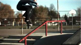 Jonny Smith slow motion skateboarding (600 fps)