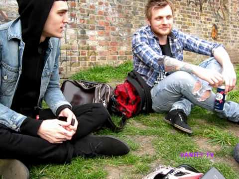 Josh Beech & Tom Spencer of HildaMay play the cherry game Video