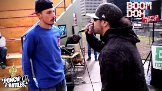 Kaascouse vs Raymzter Freestyle Frenzy Kwart Finale Battle