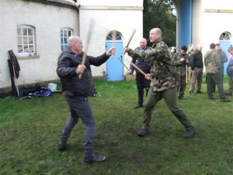 Practice FMA ESKRIMA Fight on set of New film Richard 3rd.Kickfit Nottingham,UK Image 1