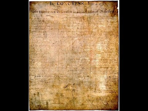 Inside the Vaults - The Declaration of Independence Video