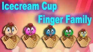 Finger family Icecream Cup | Finger Family Songs |  HD
