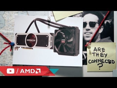 The AMD Radeon™ R9 295X2 graphics card. It's too fast.