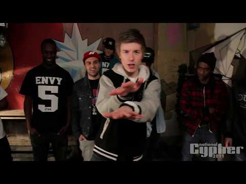 NATIONAL CYPHER 2011 DEL 3 - NYKOMMERNE (LidoLido, Dreamon, ENVY, Phil T. Rich, Lars Rubix) [HD]