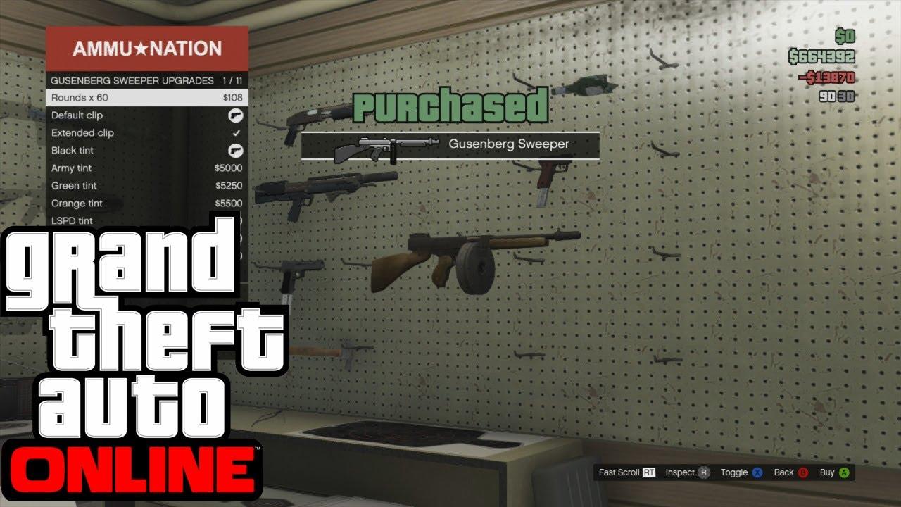 Guns Gta 5 Online Gta Online Tommy Gun in Gta