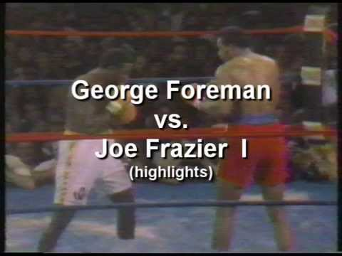 George Foreman -vs- Joe Frazier I 1/22/73 Video