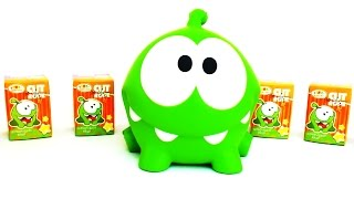 Om Nom Toys Collection Unpacking Surprise Eggs New 4 Season