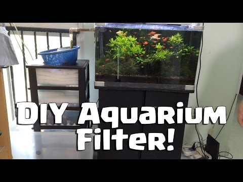 how to make aquarium water crystal clear