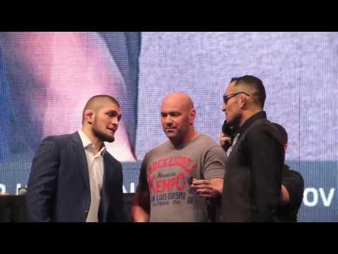 Хабиб Нурмагомедов vs Тони Фергюсон   Стердаун UFC on Fox