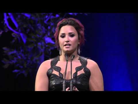 [Full Speech] Demi Lovato's Acceptance Speech At Unite4: Humanity Gala