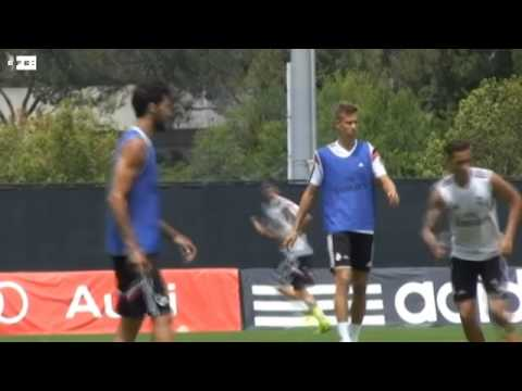 Cristiano Ronaldo regresa a los entrenamientos y se ejercita en solitario