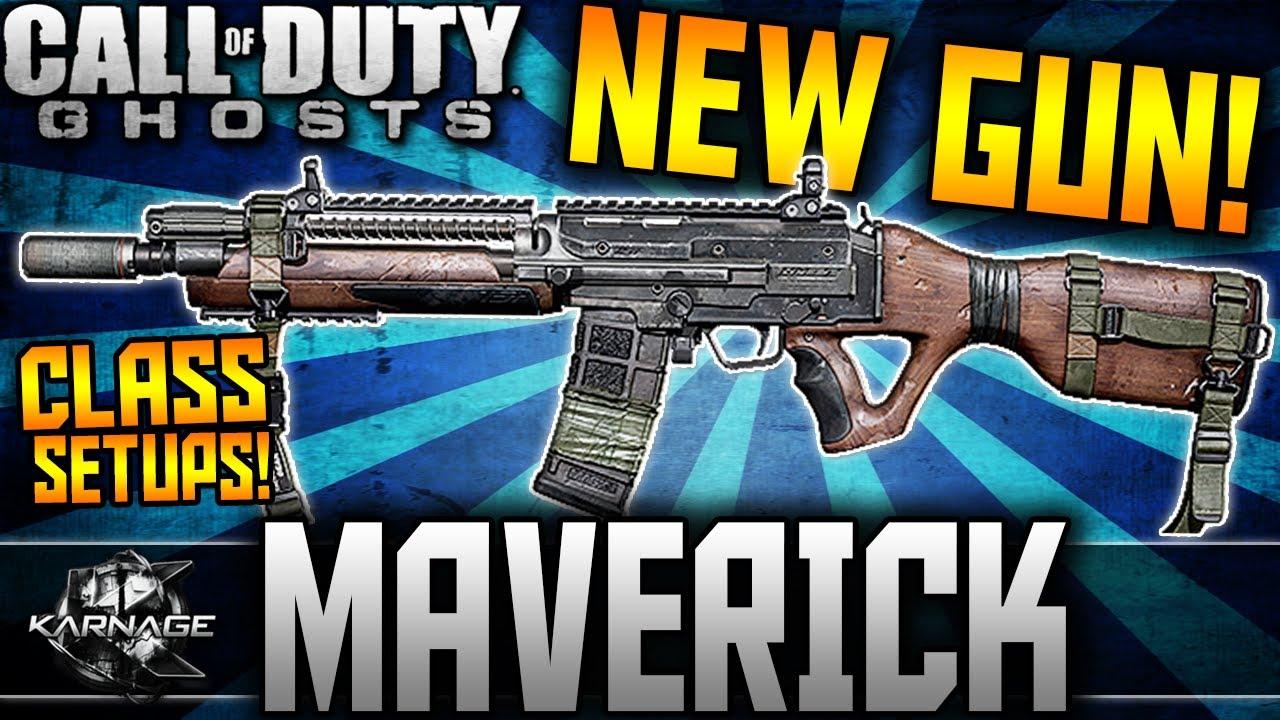 Best Gun In Cod Ghosts