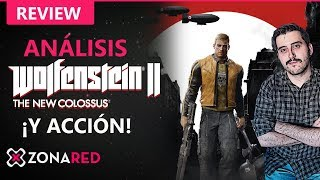 Wolfenstein 2 The New Colossus: ANÁLISIS | REVIEW, el MATA-NAZIS de Bethesda