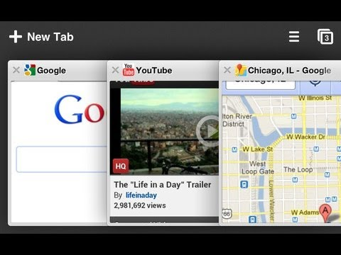 Google Chrome iOS Application Demo