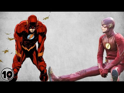 Top 10 Flash Dumbest Moments