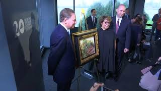 Renoir stolen by Nazis returned to owner