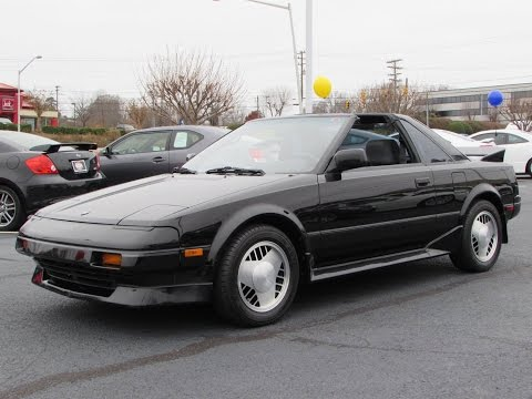 1988 Toyota MR2 Supercharged (MK1 AW11) Start Up, Exhaust, and In Depth Review
