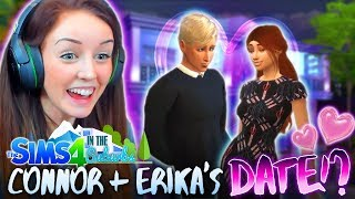 CONNOR *FINALLY* DATES ERIKA!? 💕 (The Sims 4 IN THE SUBURBS #16! 🏘)
