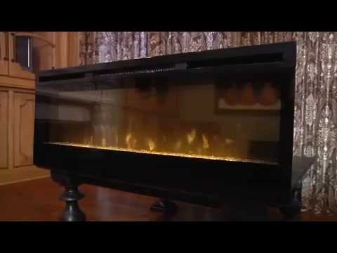 """Dimplex 50"""" Linear Electric Fireplace - BLF50 - YouTube"""
