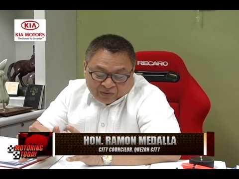 Motoring Forum with Hon. Ramon Medalla, City Councilor of Quezon City