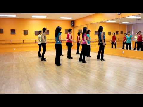 Timber (By Alison & Peter) - Line Dance (Dance & Teach in English & 中文)