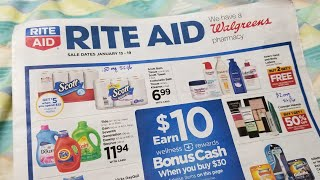 Rite Aid Haul for 01/13/19! Great Paper Prices!
