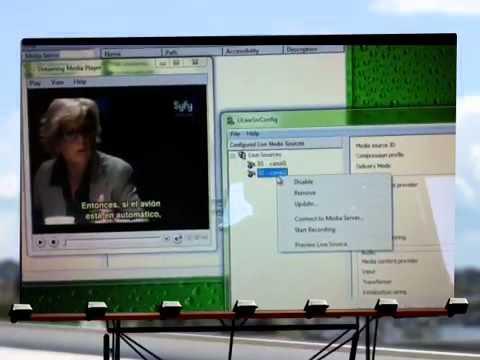 Como montar webtv