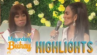 Magandang Buhay: Funny but inspirational messages of Elsa Droga and Odessa Jones to each other
