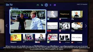 Samsung Smart TV - How to make the most of the Samsung Smart Hub