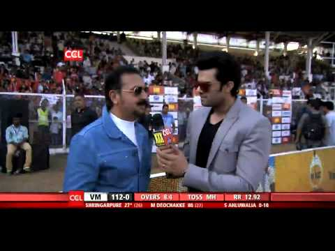 Ccl 5 Veer Marathi Vs Mumbai Heroes Ist Innings Part 2 4 video