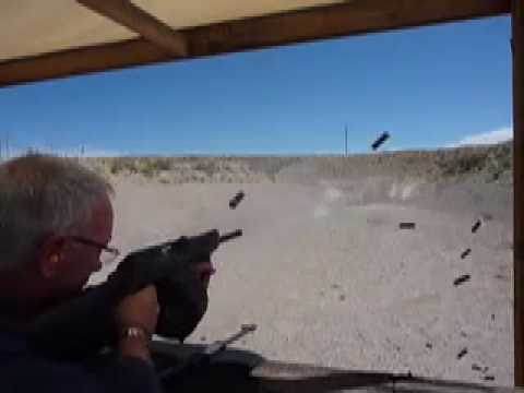 Lone Star Arms Saiga 12 Full Auto Select Fire Field Test 20 Round Drums.mov