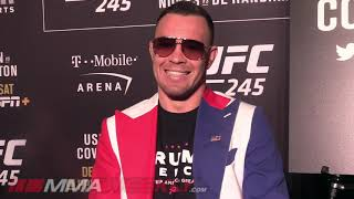 Colby Covington schools reporter on 'Marty Fake Newsman'  (UFC 245)