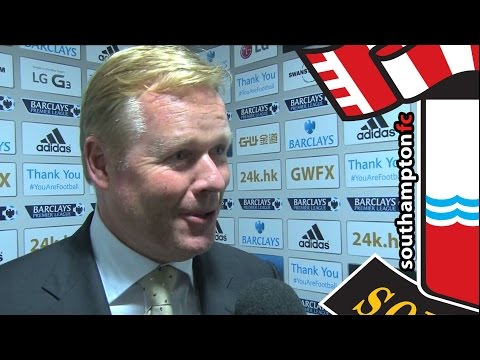 Boss Koeman praises Saints' patience after Swansea win