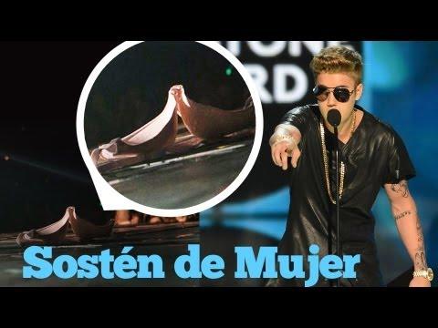 ¡Justin Bieber y El Sostén de Mujer!