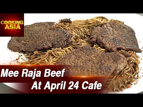 Mee Raja Beef At April 24 Cafe | Bangi Sentral | Cooking Asia