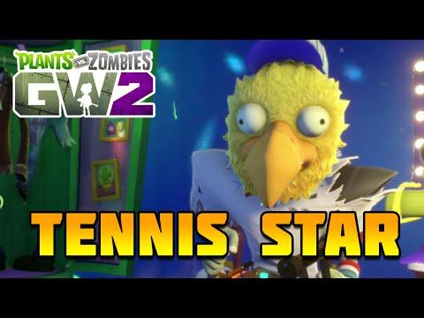 Plants vs Zombies Garden Warfare 2 - BEST ALL STAR?! Tennis Star Gameplay