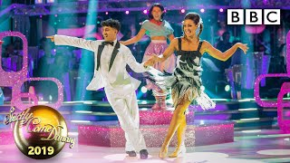 THEY GOT 40! Karim and Amy Jive to You Can't Stop the Beat - Week 11 Musicals | BBC Strictly 2019