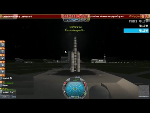 Kerbal Space Programme - Launch to 1st Orbit