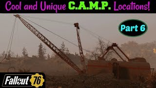 Fallout 76: Cool and Unique C.A.M.P. Locations! Part 6