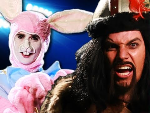 Genghis Khan vs Easter Bunny.  Epic Rap Battles of History #8 Music Videos