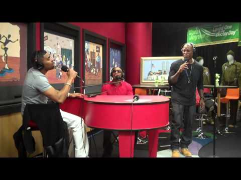 TGT (Tyrese, Ginuwine, Tank) performs Sex Never Felt Better on the Tom Joyner Morning Show